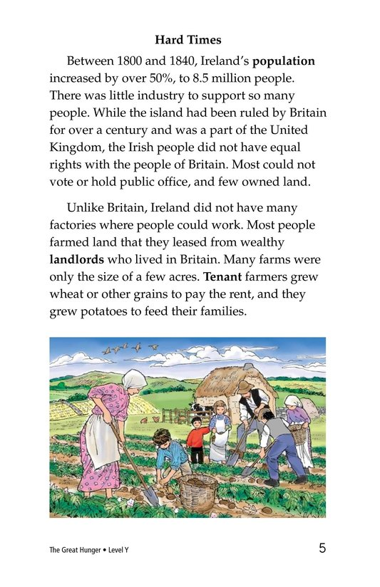 Book Preview For The Great Hunger Page 5