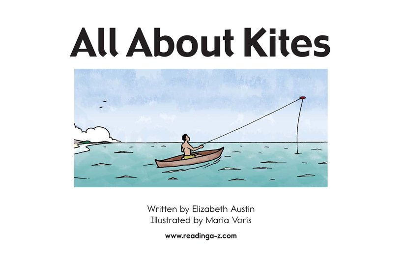 Book Preview For All About Kites Page 2