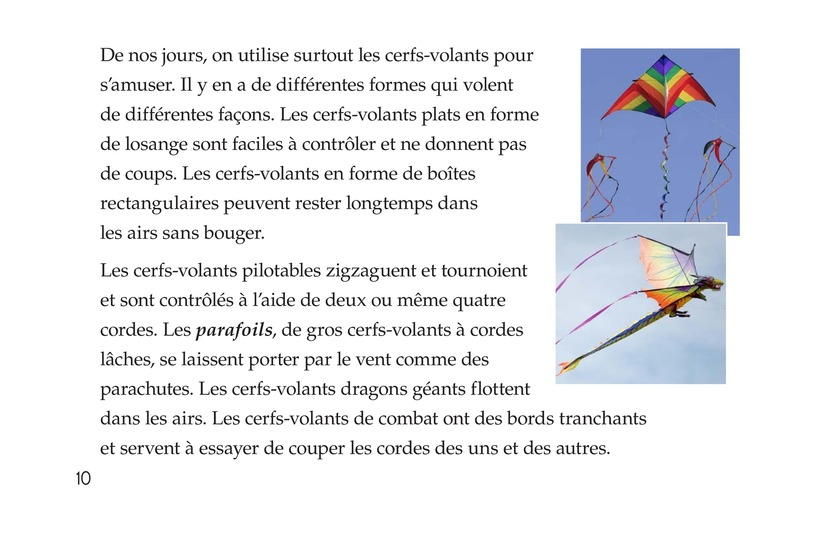 Book Preview For All About Kites Page 10