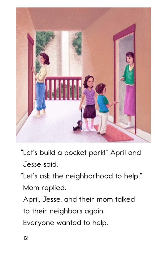 Book Preview For A Pocket Park for Tiny Page 12