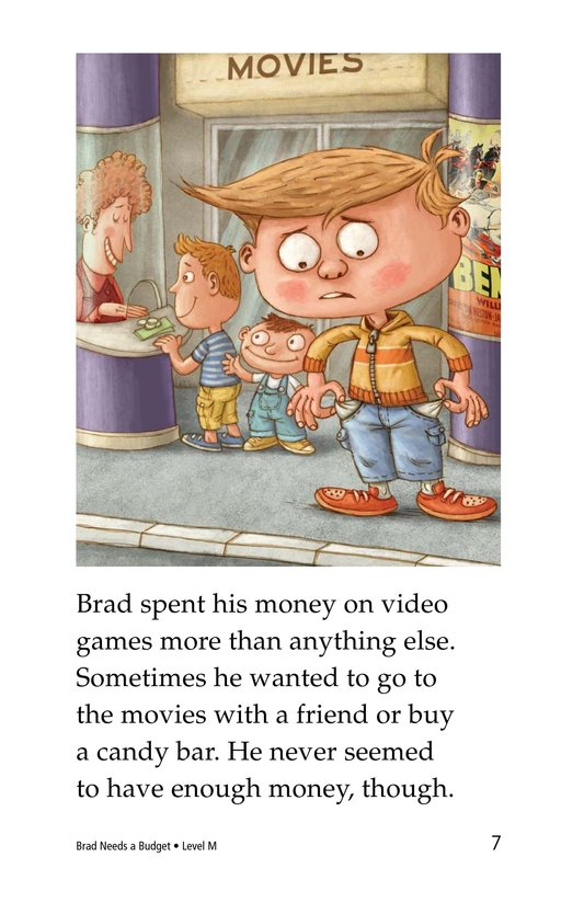 Book Preview For Brad Needs a Budget Page 7