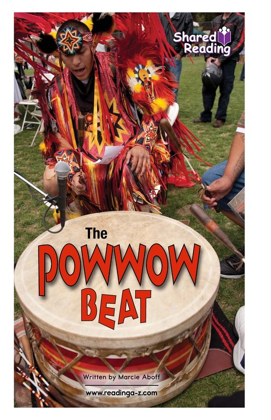 Book Preview For The Powwow Beat Page 1