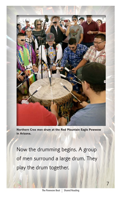Book Preview For The Powwow Beat Page 7