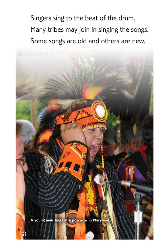 Book Preview For The Powwow Beat Page 8