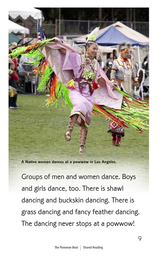 Book Preview For The Powwow Beat Page 9