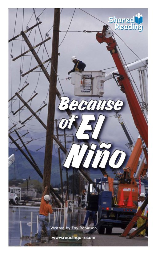 Book Preview For Because of El Niño Page 1