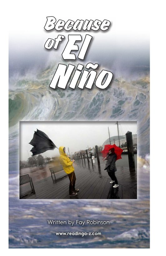 Book Preview For Because of El Niño Page 2
