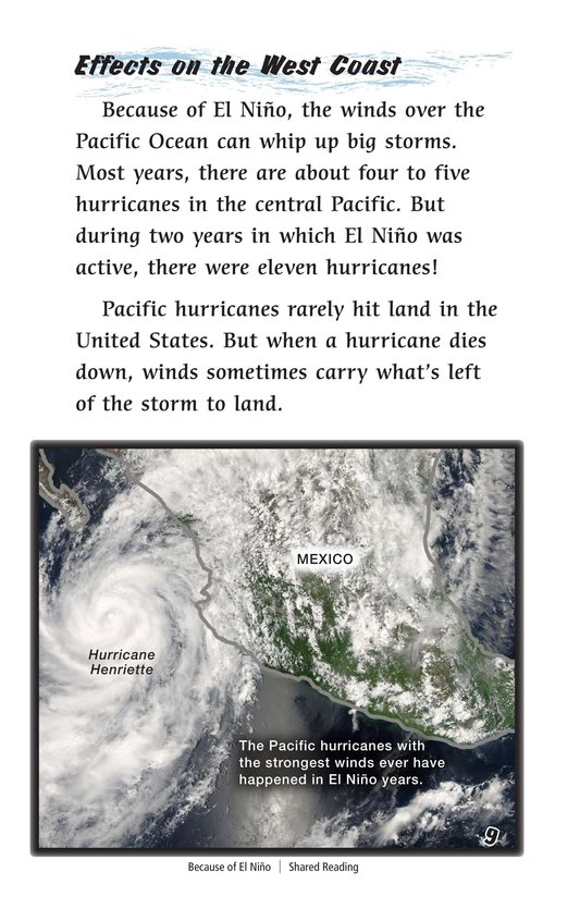 Book Preview For Because of El Niño Page 9