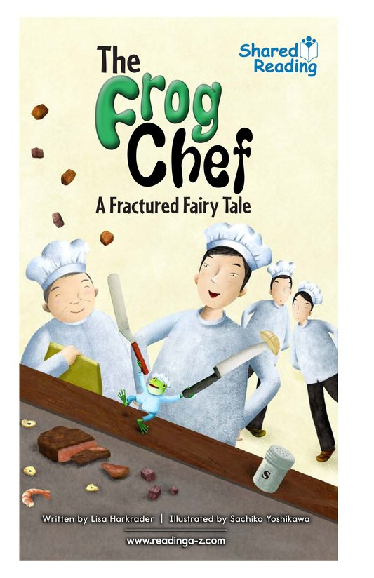 Book Preview For The Frog Chef Page 1