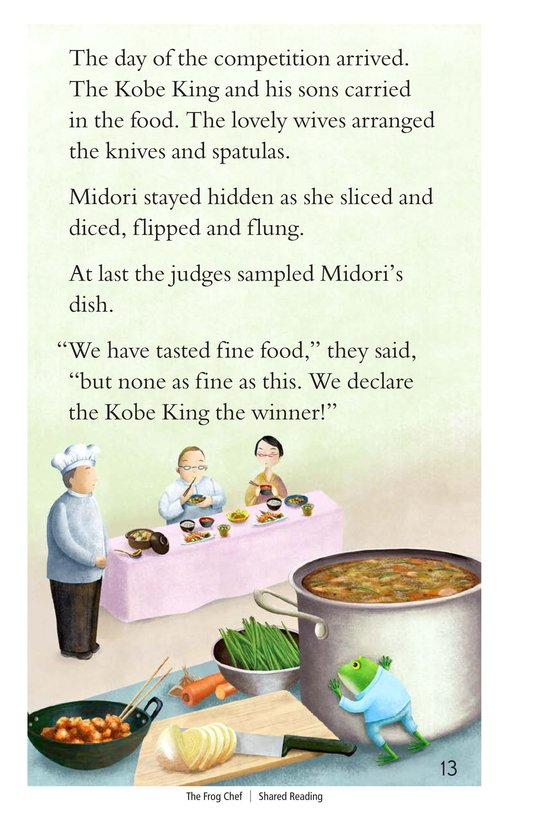 Book Preview For The Frog Chef Page 13