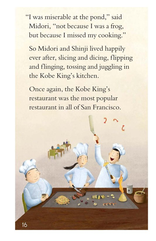 Book Preview For The Frog Chef Page 16