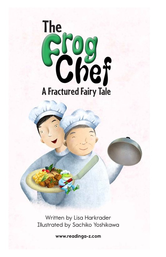 Book Preview For The Frog Chef Page 2