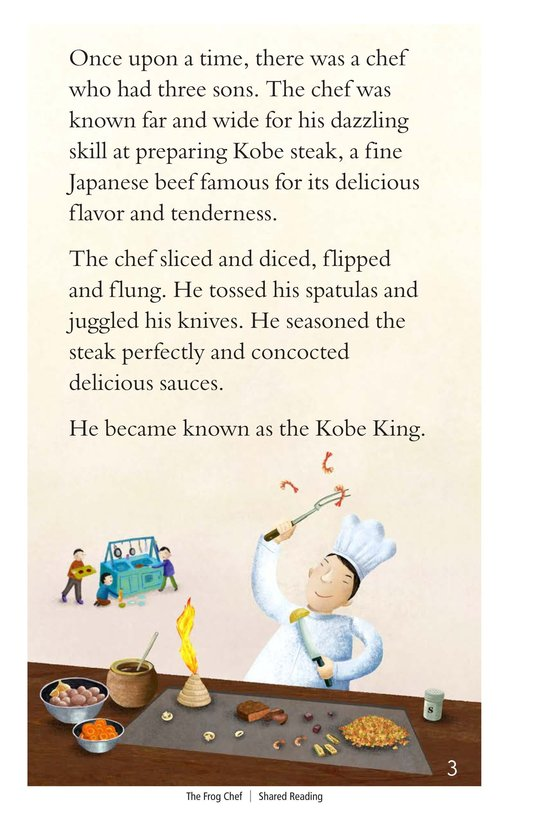 Book Preview For The Frog Chef Page 3