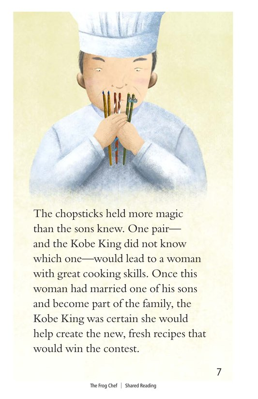 Book Preview For The Frog Chef Page 7