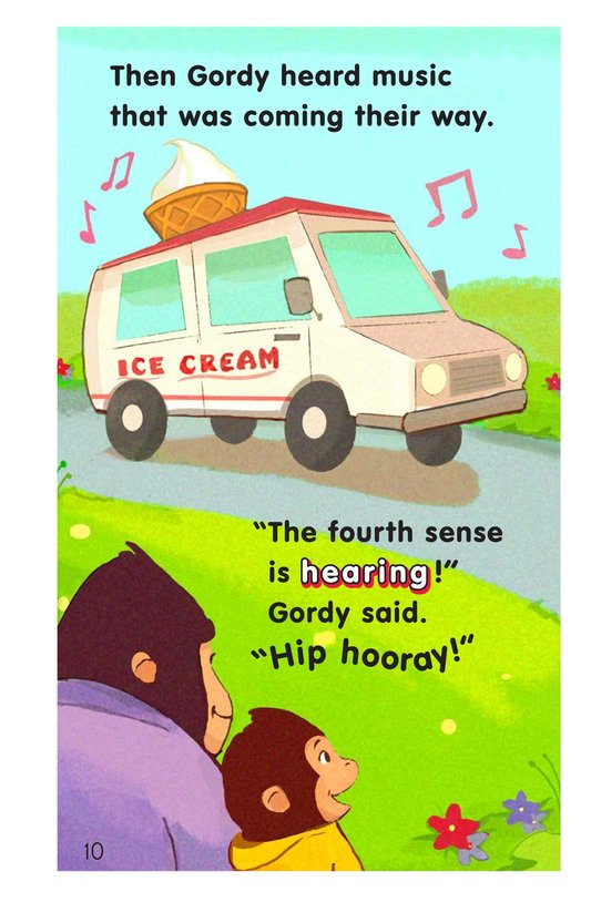 Book Preview For Gordy Gorilla and His Five Senses Page 10