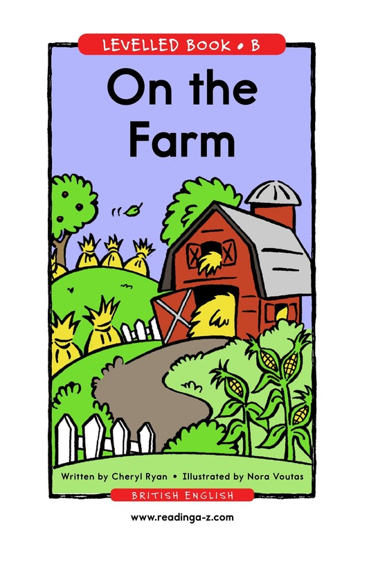 Book Preview For On the Farm Page 1