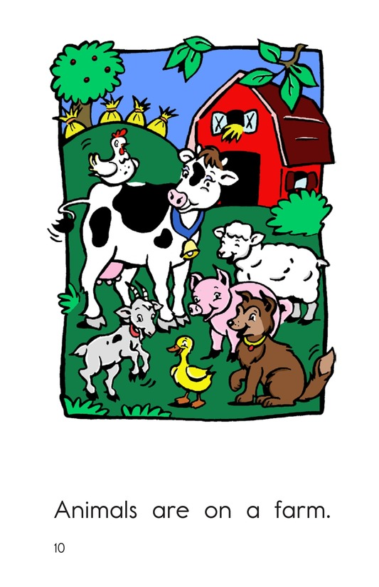 Book Preview For On the Farm Page 10
