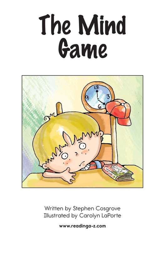 Book Preview For The Mind Game Page 2