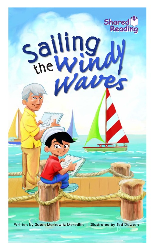 Book Preview For Sailing the Windy Waves Page 1