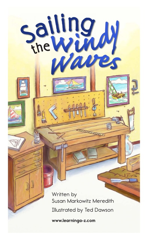 Book Preview For Sailing the Windy Waves Page 2