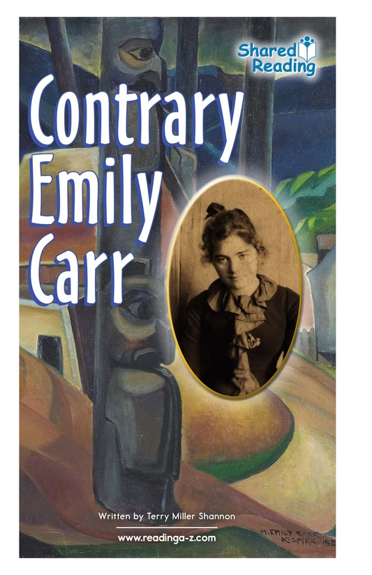 Book Preview For Contrary Emily Carr Page 0