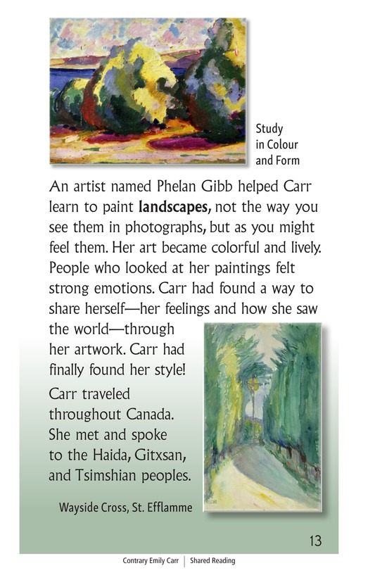 Book Preview For Contrary Emily Carr Page 13