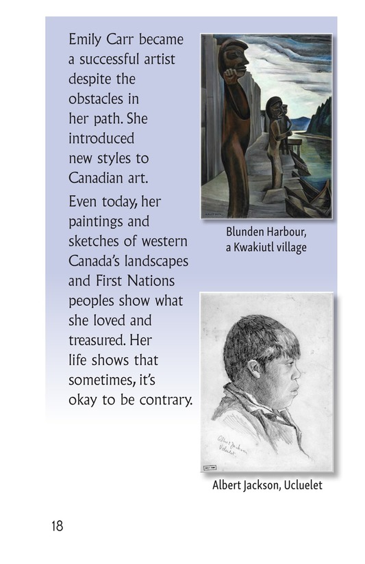 Book Preview For Contrary Emily Carr Page 18