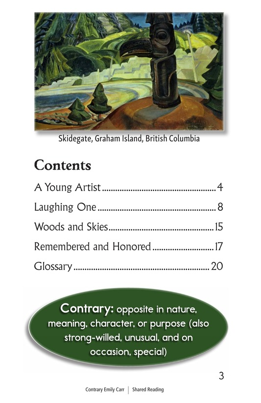 Book Preview For Contrary Emily Carr Page 3