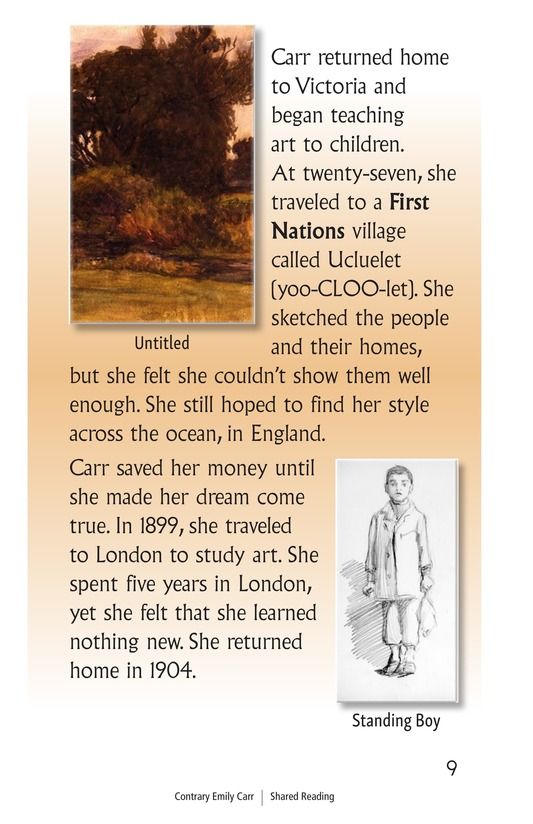 Book Preview For Contrary Emily Carr Page 9