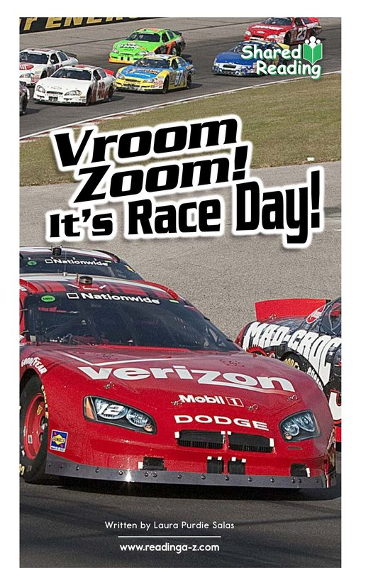 Book Preview For Vroom Zoom! It's Race Day Page 1