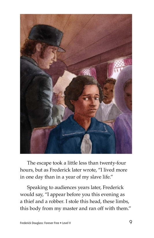 Book Preview For Frederick Douglass: Forever Free Page 9