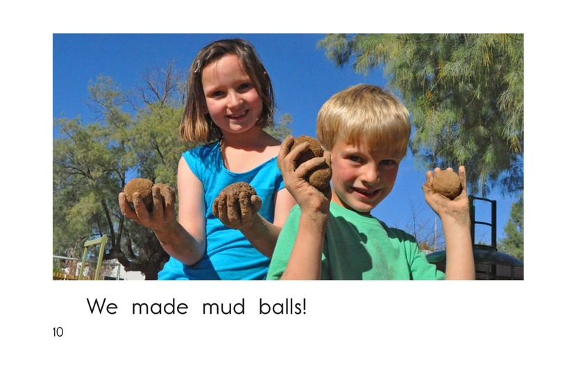 Book Preview For Mud Balls! Page 10