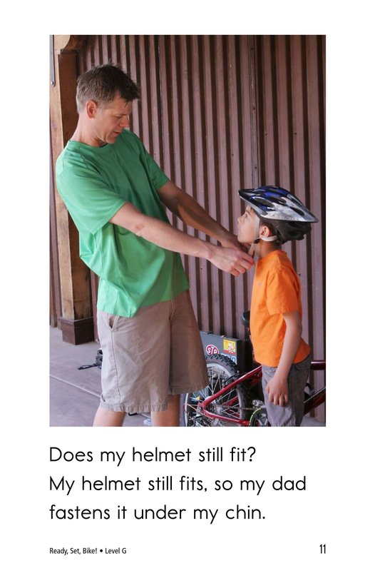 Book Preview For Ready, Set, Bike! Page 11