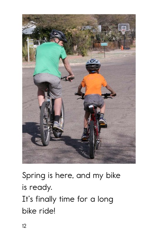 Book Preview For Ready, Set, Bike! Page 12