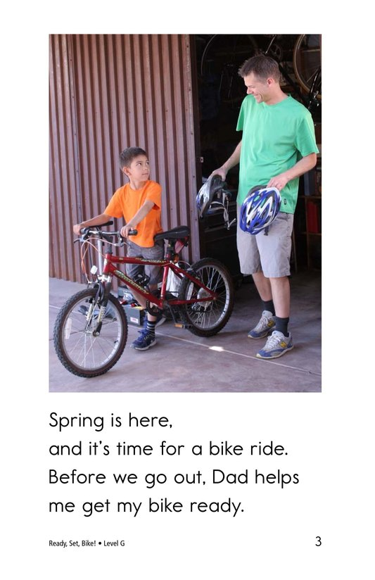 Book Preview For Ready, Set, Bike! Page 3