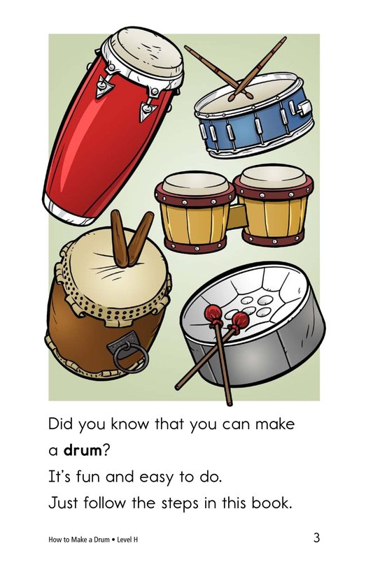 Book Preview For How to Make a Drum Page 3
