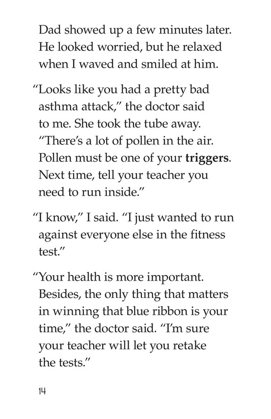 Book Preview For My Asthma Attack Page 14