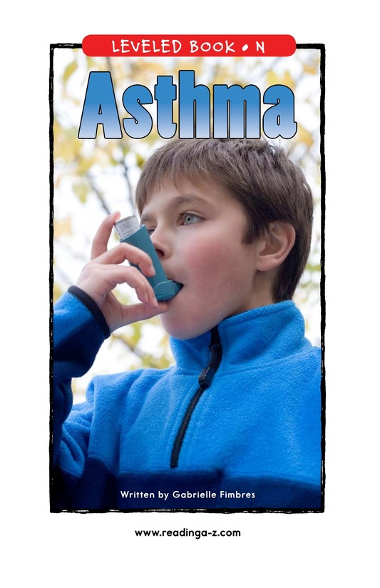 Book Preview For Asthma Page 1