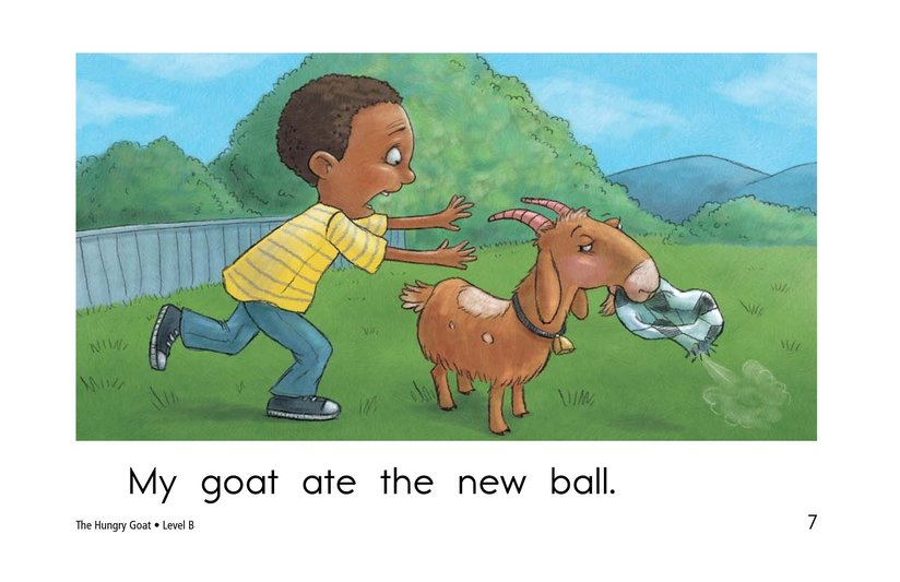 Book Preview For The Hungry Goat Page 7