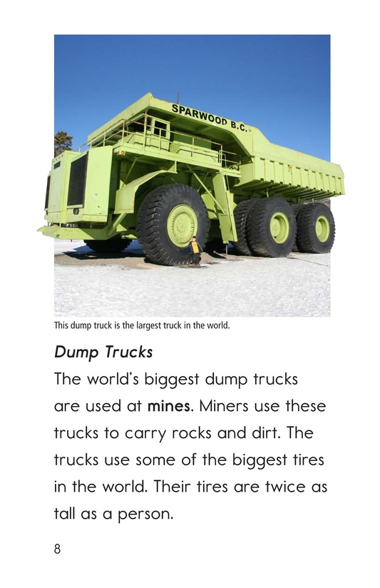 Book Preview For Bigger Than a Monster Truck Page 8