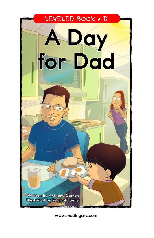 Book Preview For A Day for Dad Page 1