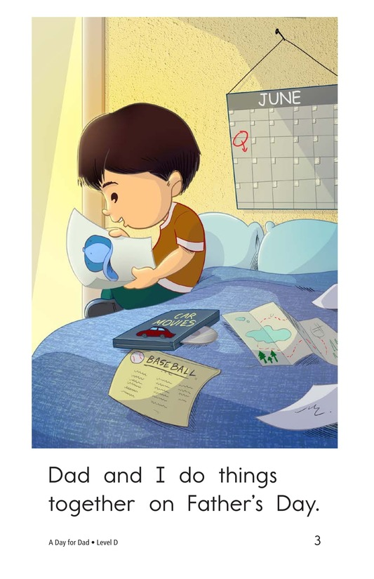Book Preview For A Day for Dad Page 3
