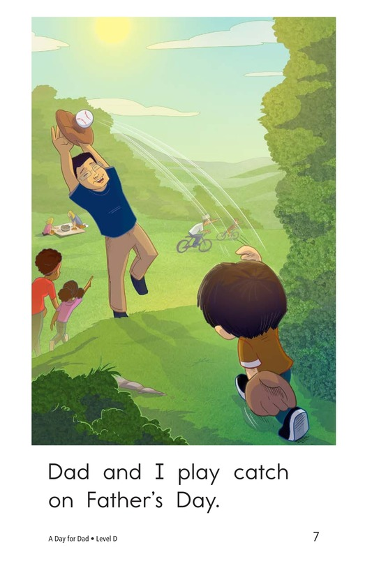 Book Preview For A Day for Dad Page 7