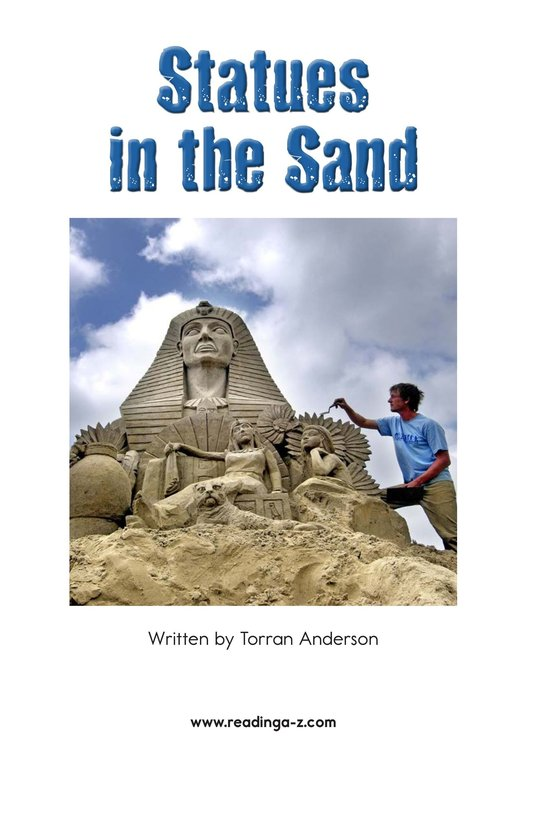 Book Preview For Statues in the Sand Page 2