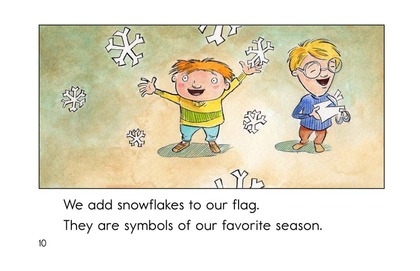 Book Preview For Our Class Flag Page 10