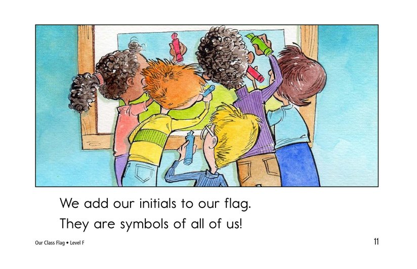 Book Preview For Our Class Flag Page 11