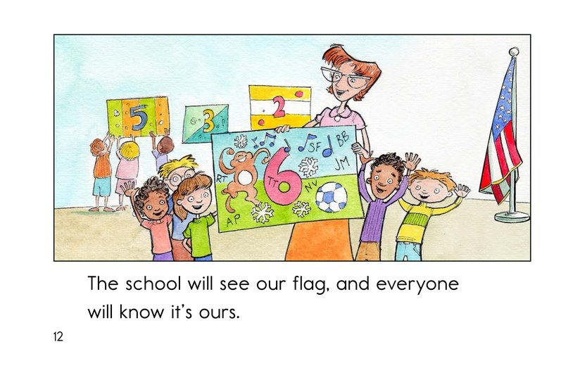 Book Preview For Our Class Flag Page 12