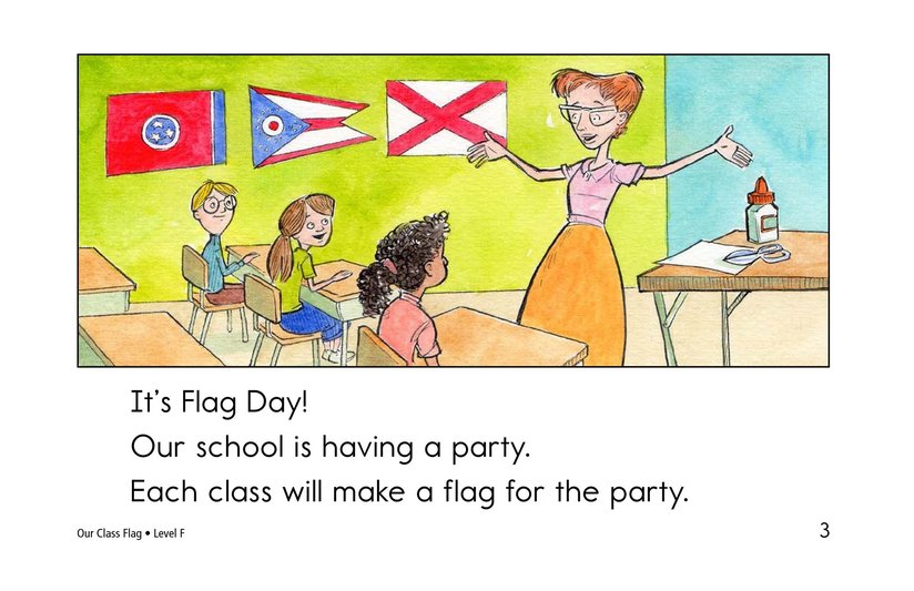 Book Preview For Our Class Flag Page 3