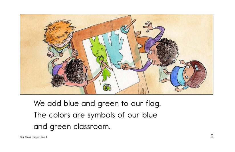 Book Preview For Our Class Flag Page 5