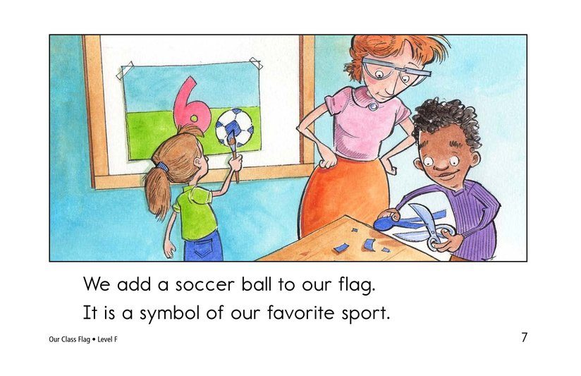 Book Preview For Our Class Flag Page 7